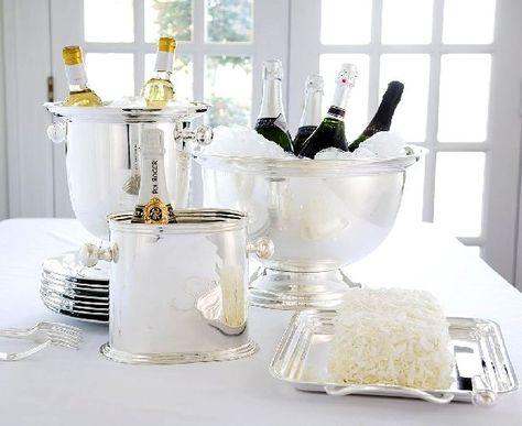 White party decor