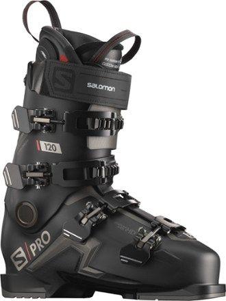 Salomon Men S S Pro 120 Chc Ski Boots Black Beluga 28 5 Mondo Ski Boots Skiing Warm Boots