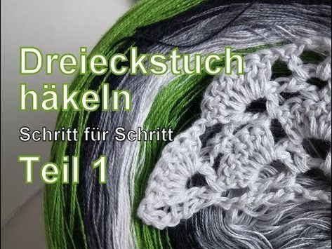 Stola Häkeln Dreieckstuch Cal Crotchet Along Täschwerk