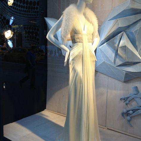 literally my dream gown // 5th Avenue Window. J. Mendel Gown