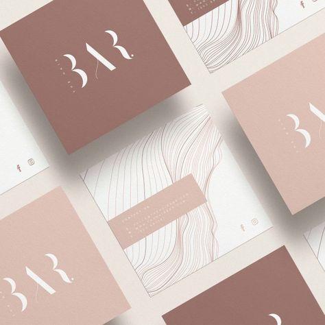 The Hair Bar Business Card - Business Card Design Inspiration