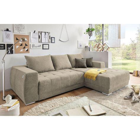 Ecksofa Holvik Mit Schlaffunktion Ecksofas Couch Mobel Wohnen