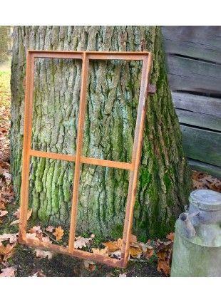 Scheunen Fenster mit 12 Feldern ideales Eisenfenster Gartenmauer