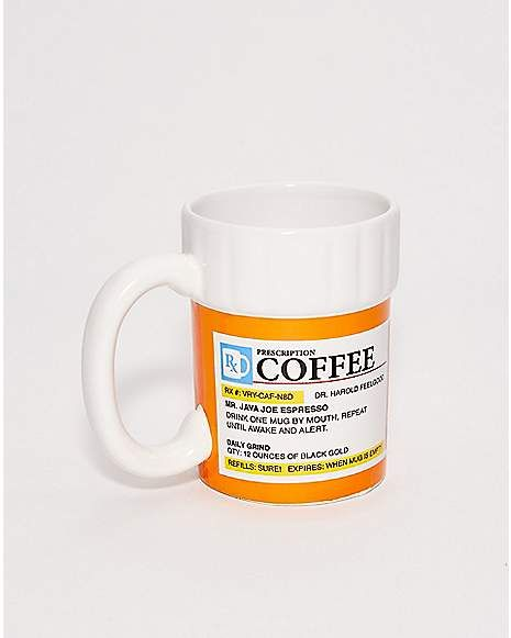 Prescription Coffee Mug 12 Oz Spencer S Mugs Coffee Mugs