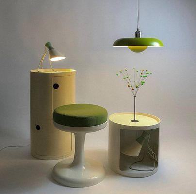 Space Age Green Ra Ceiling Lamp By Piet Hein For Lyfa 2006 2 Esstisch Modern Deckenlampe Design Lampen