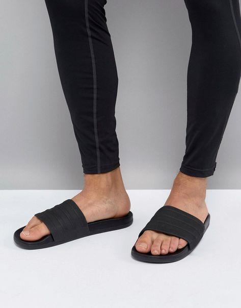 65838b2625d8d ADIDAS ORIGINALS ADIDAS ADILETTE CF+ SLIDERS IN BLACK S82137 - BLACK.   adidasoriginals  shoes