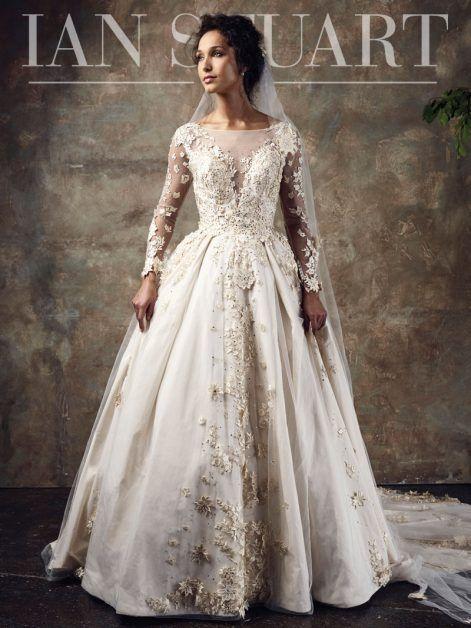 Spellbound Bridal Gown By Ian Stuart Wedding Dresses Unique