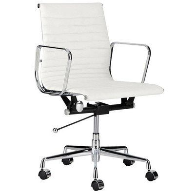 Milan Direct Eames Classic Replica Management Office Chair Reviews Temple Webster With Images Office Chair Stylish Office Chairs Cheap Office Chairs