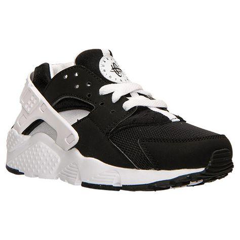 Boys  Grade School Nike Huarache Run Running Shoes - 654275 009  aaf92d08f323