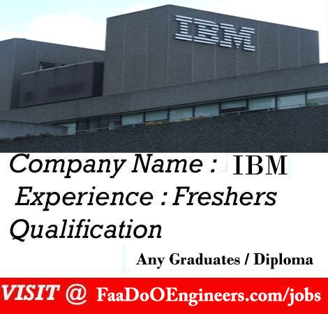 Walk In Jobs For Ibm Click Here Jobs For Freshers Engineering Jobs Job