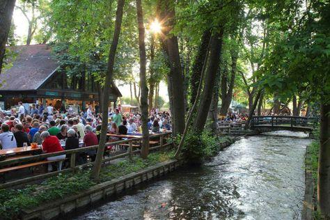 Die schönsten Biergärten in München - Inselmühle Obermenzing.