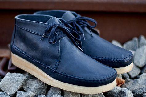 DARVIN SILVA!: Ronnie Fieg X Clarks Weaver Boot | Boots