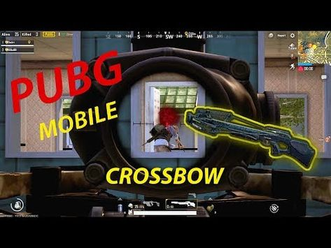 3 Pubg Crossbow Silend But Deadly Youtube Youtube Videos