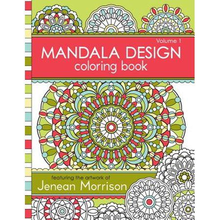 Mandala Design Coloring Book Volume 1 Walmart Com Designs Coloring Books Mandala Coloring Books Coloring Books