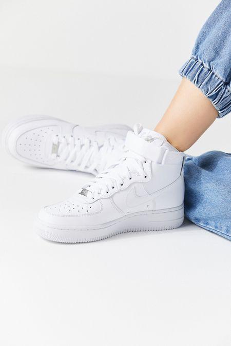Nike Air Force 1 High Top Sneaker Womens Sneakers Nike High Tops Trending Shoes