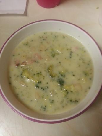 Homemade Cream Of Broccoli Soup Recipe