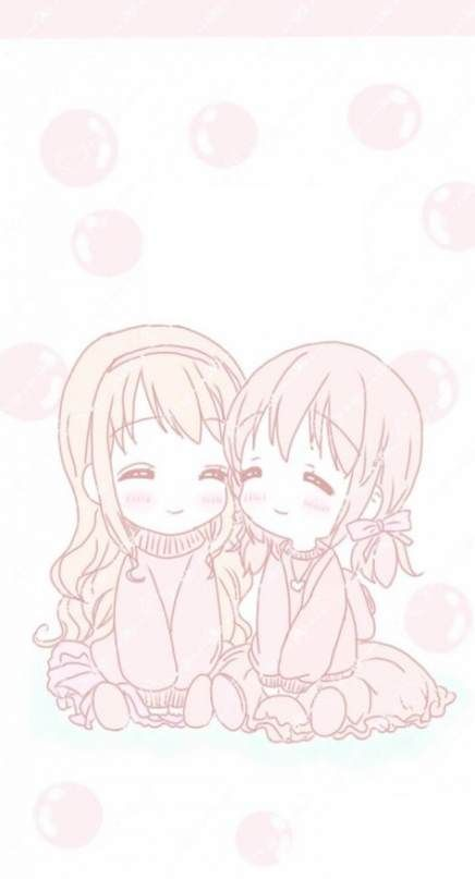 Anime Art Cute Wallpaper 38 Ideas Anime Sisters Anime Art Cute Wallpapers