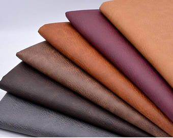 Types Of Fabrics Faux Leather Fabric Leather Fabric Sewing Leather