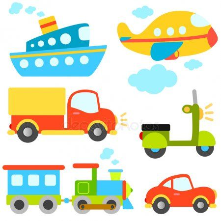 Cartoon Vehicles Stock Vector Spon Vehicles Cartoon