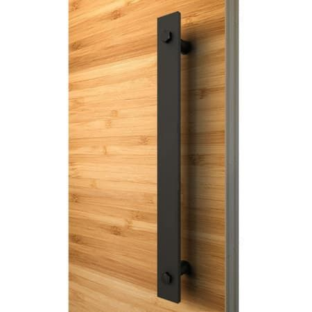 Richelieu 246207020290 Black Industrial 11 13 16 Inch Center To Center Barn Door Pull In 2020 Sliding Door Handles Front Door Handles Barn Door Handles