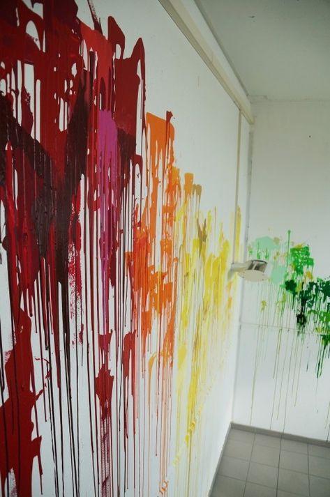 Kreativ Und Leicht Zu Hause Die Wande Gestalten Malerei