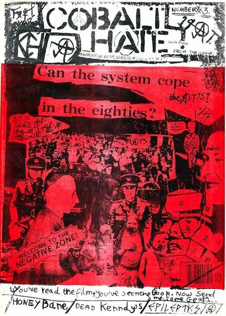 Photo of dead kennedys poster