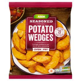 Asda Seasoned Potato Wedges Asda Groceries Food Seasoned