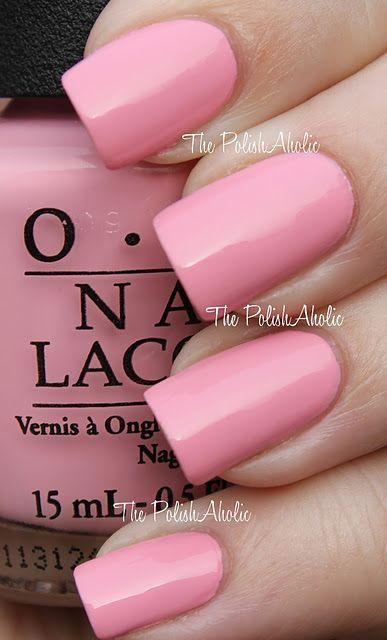 Pin By Laurel Savoca On Opi Bridal Nails Pink In 2020 Opi Pink Nail Polish Nails Nail Polish