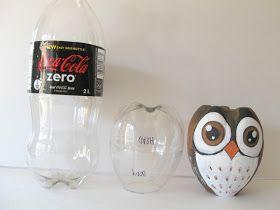 Animales En Material Reciclable En Botellas