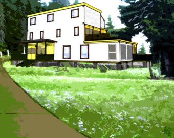 Shipping Container Plans 6 Bed 5 1 2 Bath Schematic Design Etsy In 2020 Container House Shipping Container House Plans Shipping Container