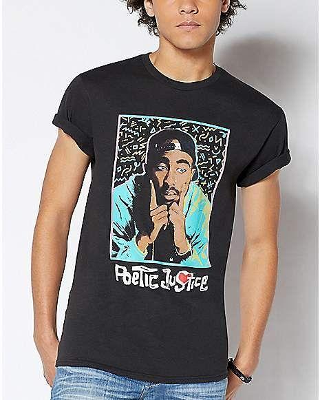 Poetic Justice Tupac T Shirt Epic Shirt Shop Tupac T Shirt Epic Shirt Casual Wardrobe