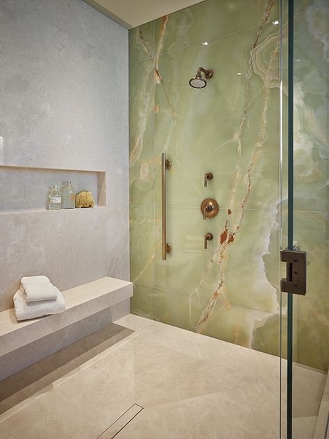 Amazing bathroom shower ideas On a budget walk in modern bathroom designs DIY Master ceilings - Small bathroom shower - June 23 2019 at Modern Bathroom Design, Bathroom Interior Design, Bathroom Designs, Bathroom Ideas, Bathroom Mirrors, Bathroom Cabinets, Bath Design, Green Marble Bathroom, Bathroom Faucets