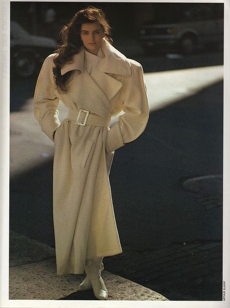 Fashion in 80's: A Few Past Editorials from the Pages of Paris Vogue