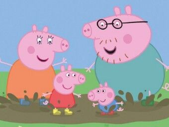Pin By Maria Marte On 2 Peppa Pig Family Peppa Pig Wallpaper