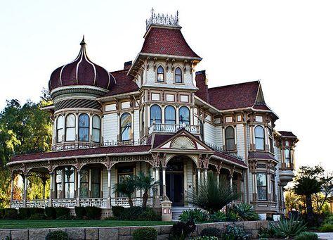 Morey Mansion c.1890 Redlands, CA