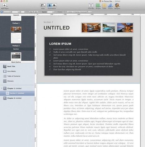 Publishing with iBooks Author Download my iBooks Author