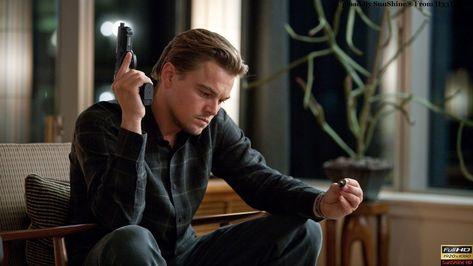 HD wallpaper: black pistol, movies, Inception, Leonardo DiCaprio, sitting, one person