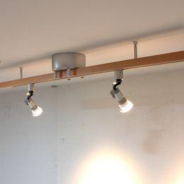 Daiko ダクトレール用 Led小型シーリングライト キッチン 実例