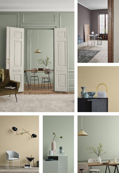 Colori Pareti Per Arredamento Moderno.Tendenze Colore Per Il 2019 Identity By Jotun Nel 2019