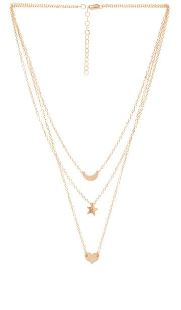 Savannah Guthrie S Long Charm Necklace Big Blonde Hair In 2020 Wanderlust Necklace Gold Fill Necklace Necklace