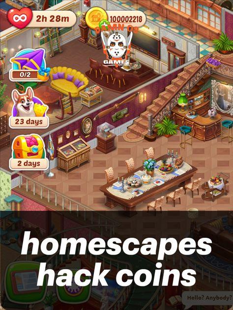 homescapes hack coins