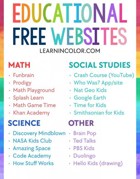 75+ Educational Activities for When You're Stuck Indoors