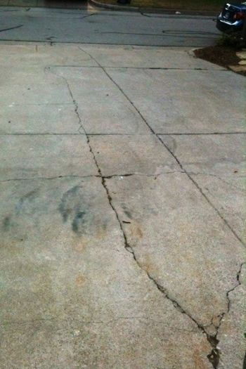 Curb Appeal Tip Repair Unsightly Driveway Cracks Small Cracks Can Be Filled With Squeeze Bottle Of Concrete Patch At Home Depot Lowe S Or Other Home Improvem