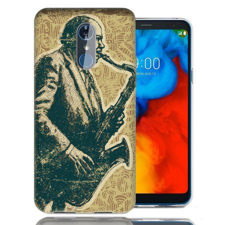 Mundaze For LG Stylo 4 Vintage Jazz Design TPU Gel Phone