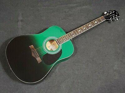 Randy Jackson Studio Series Green Black Acoustic Guitar Black Acoustic Guitar Acoustic Guitar Guitar