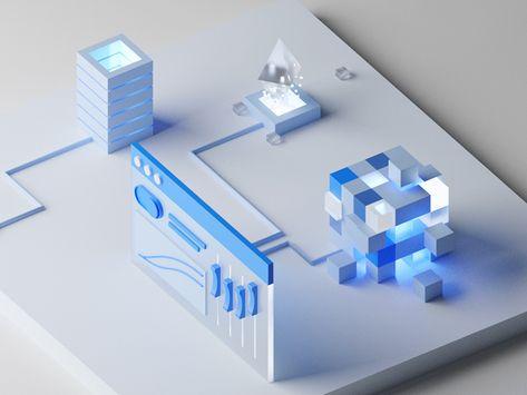 Control panel for blockchain