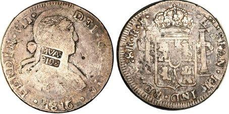 Los Resellos De Las Repúblicas Americanas Sobre Moneda Española Numismaticodigital Com Monedas De Plata Moneda Española Monedas