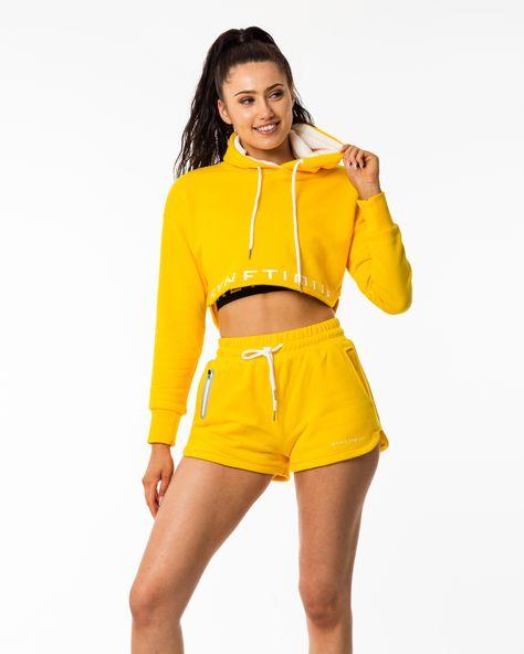 It's your Identity. Hoodie and sweat pants in white   #workout #fitness #gymwear #activewear #sportswear #yoga #strength #training #highwaisted #legging #croptop #gymmotivation #womenswear #womensfashion #shopping #worldwideshipping