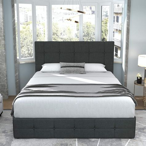 350 Decoration Ideas In 2021 Small, Allewie Queen Platform Bed Frame With 4 Drawers Storage