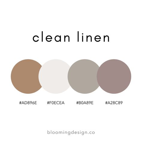Clean Linen Color Palette